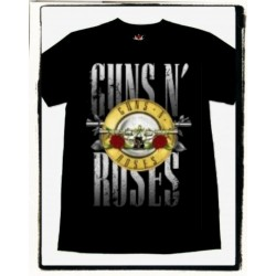CAMISETA GUNS AND ROSES LOGO LL